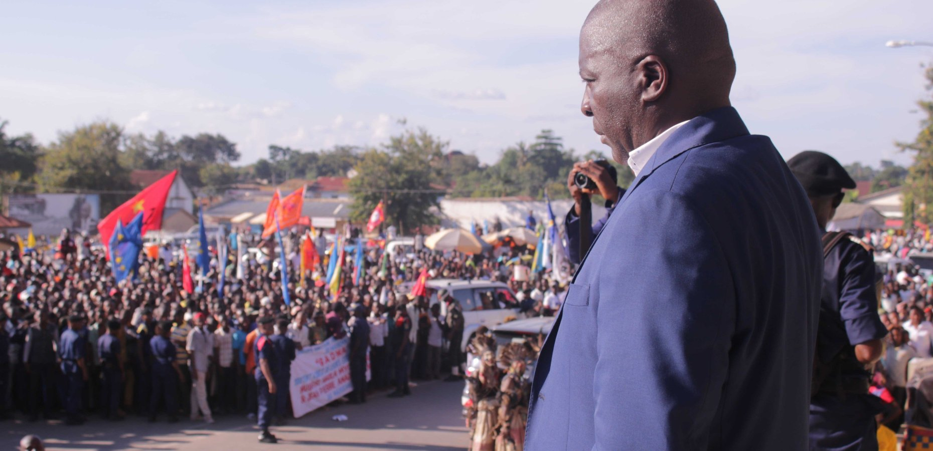 le nouveau Gouverneur, Augustin Musafiri appelle la population à l'unité