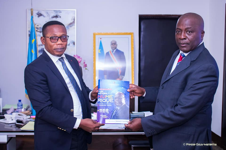 Maniema : Le Plan National du Numérique présenté au Gouverneur