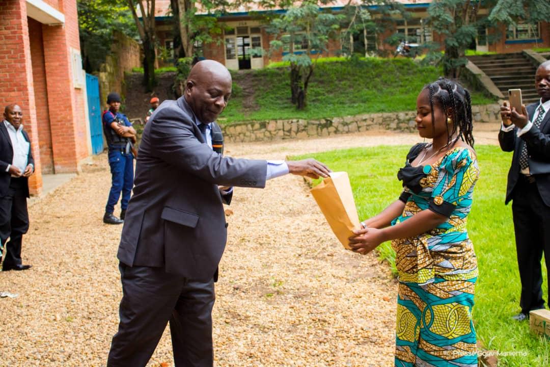 Infrastructures : le Gouverneur participe au lancement de la réhabilitation du collège de l'Enano