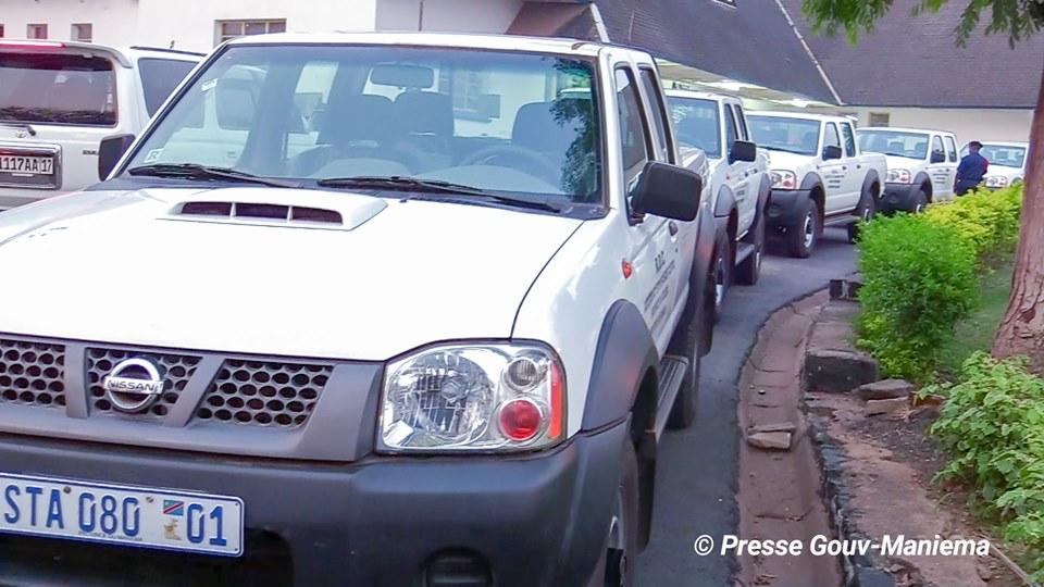 Maniema : Auguy Musafiri remet des véhicules aux Administrateurs des territoires