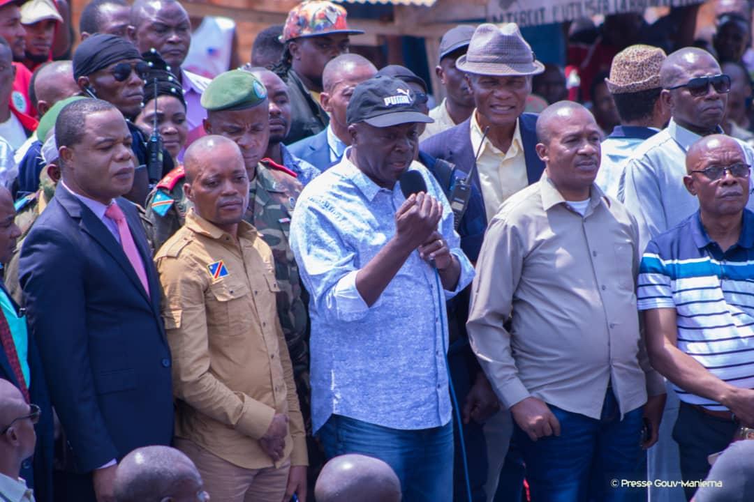 Kabambare : Auguy Musafiri boucle son sejour à la Salamabila par un meeting patriotique