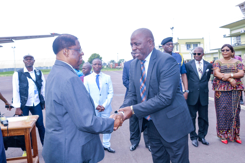 Le Président du sénat est arrivé à Kindu