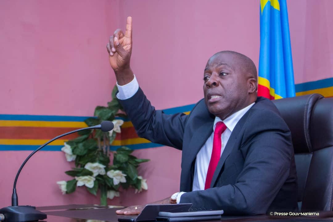 Kindu : Le Gouverneur Musafiri s'entretient avec les jeunes