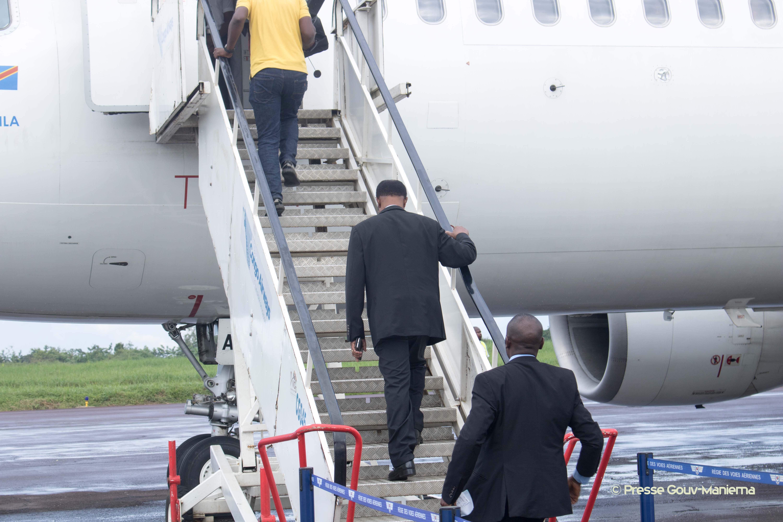 Maniema : le Président du Sénat a regagné Kinshasa