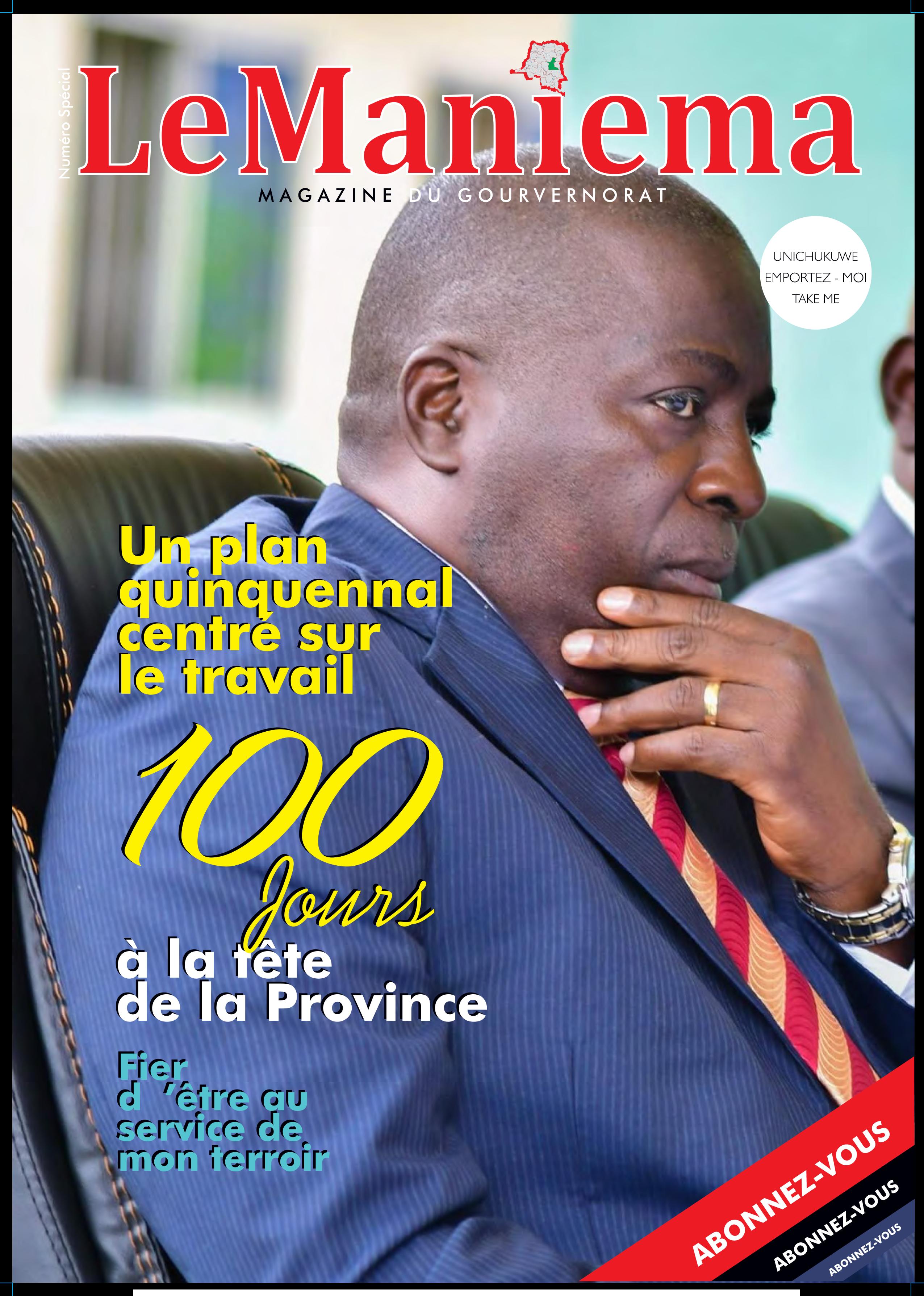 Le Maniema Magazine : Numéro spécial septembre 2019