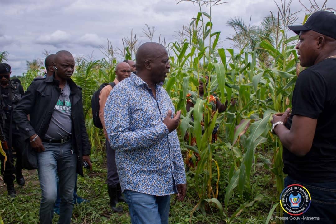 Maniema : le Gouverneur de Province instaure le week-end agricole pour encourager l'agriculture