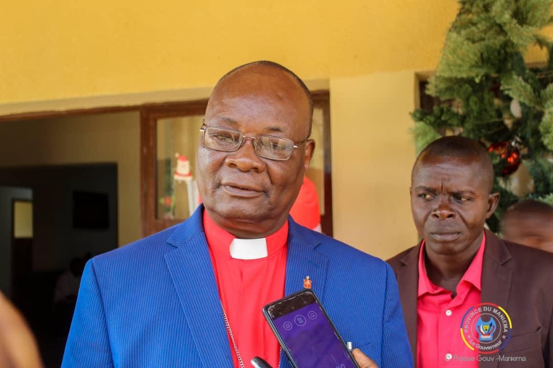 Maniema : le Gouverneur s'entretien avec l'Evêque Méthodiste uni du Congo Est