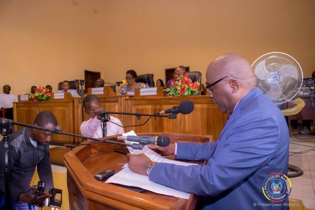 Le Gouverneur #AuguyMusafiri était ce vendredi face à la représentation du peuple pour défendre le budget de la Province pour l'exercice 2020