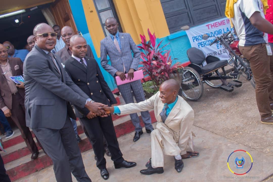 Maniema : Le Gouvernement provincial rassure sur son maintien à la promotion des personnes vivant avec handicap