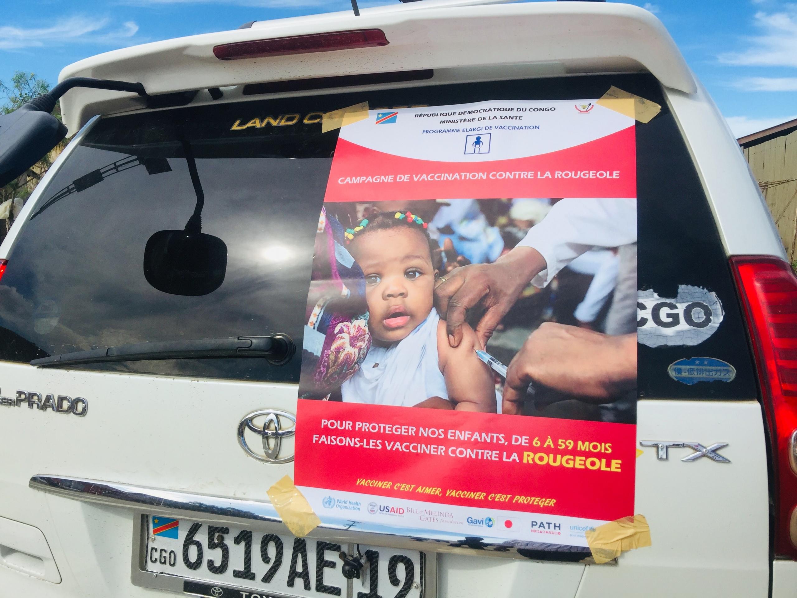 Maniema : le gouverneur Musafiri lance la campagne de vaccination contre la rougeole et les diarrhées à Rotavirus