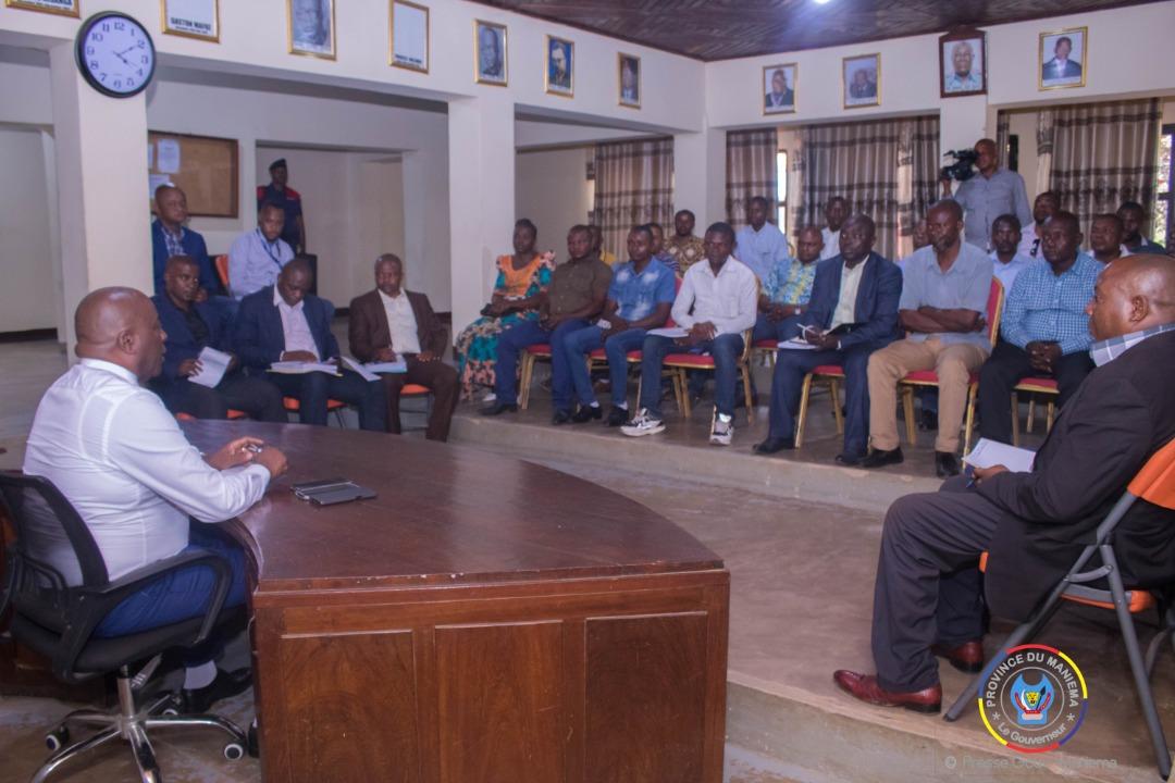 Maniema : le Gouverneur sensibilise les négociants des minerais sur le civisme fiscal