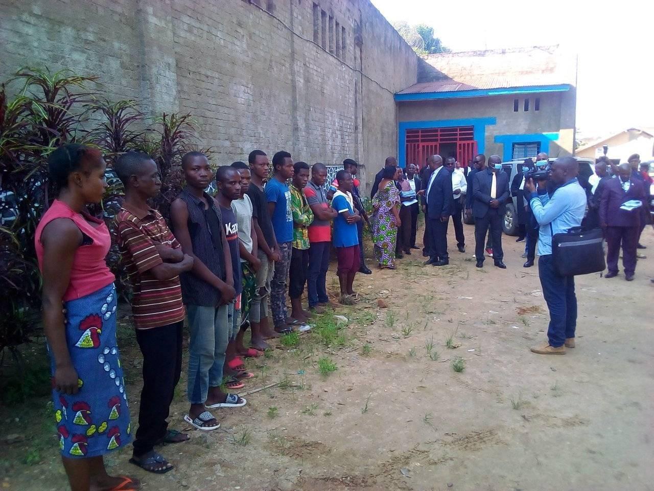 #Coronavirus : Libération de 38 détenus dans la prison centrale de Kindu