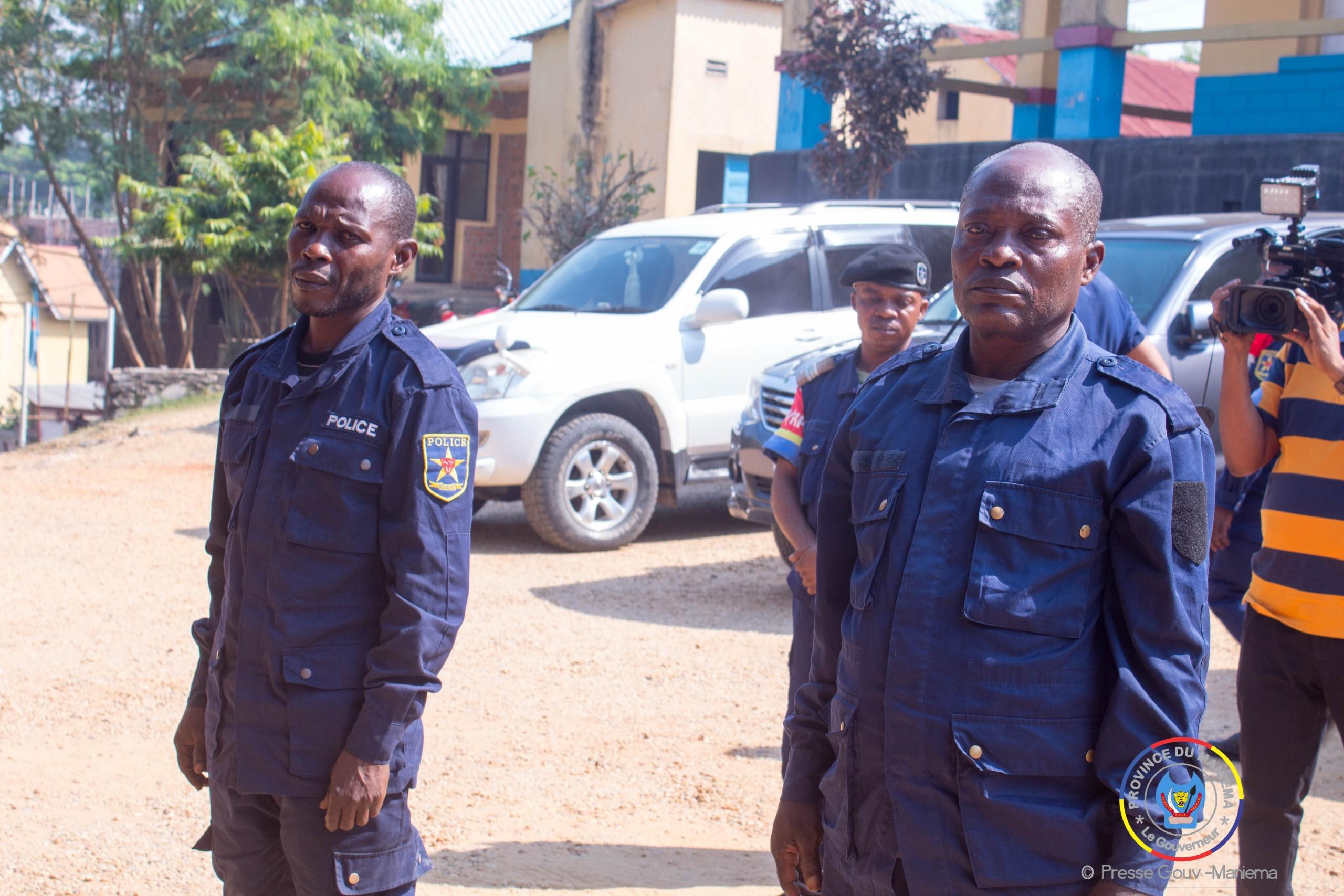 Maniema : le deux policiers meurtriers d'un jeune à Kibombo mis à la disposition de la justice militaire