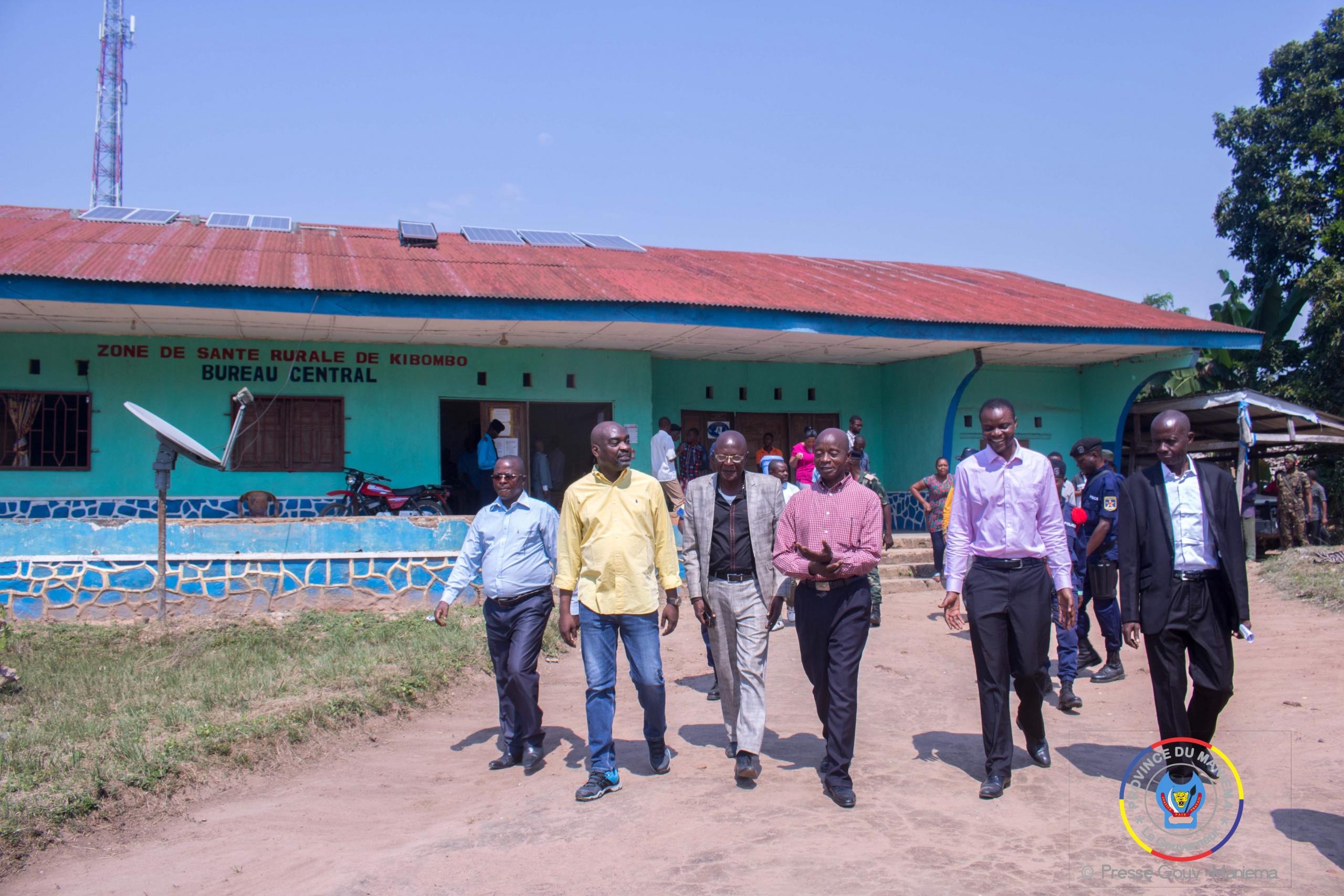 #Maniema : le Ministre de la santé visite les structures sanitaires de la Zone de santé de Kibombo